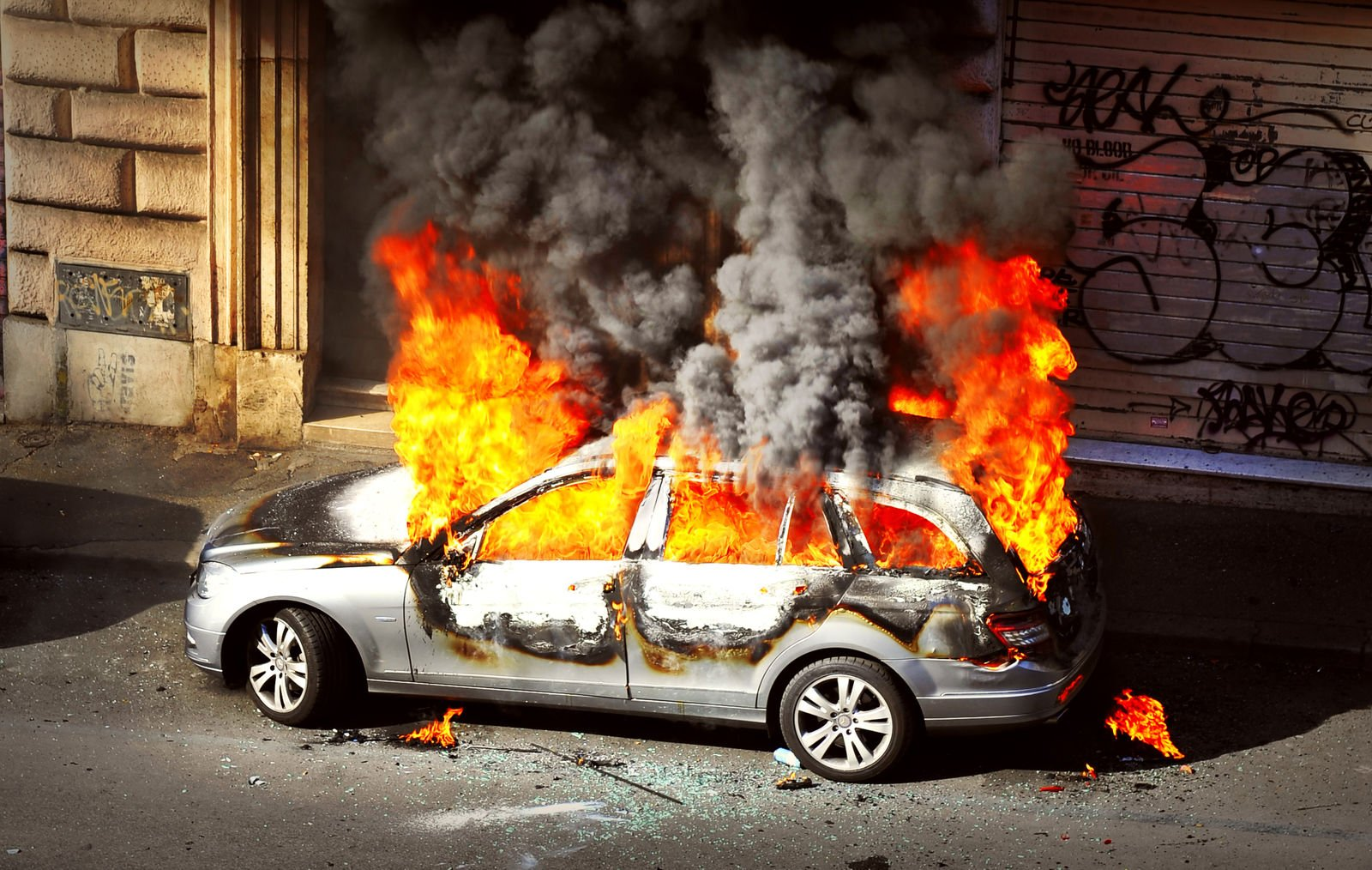Does my Car Insurance Policy Cover Riot Damage?