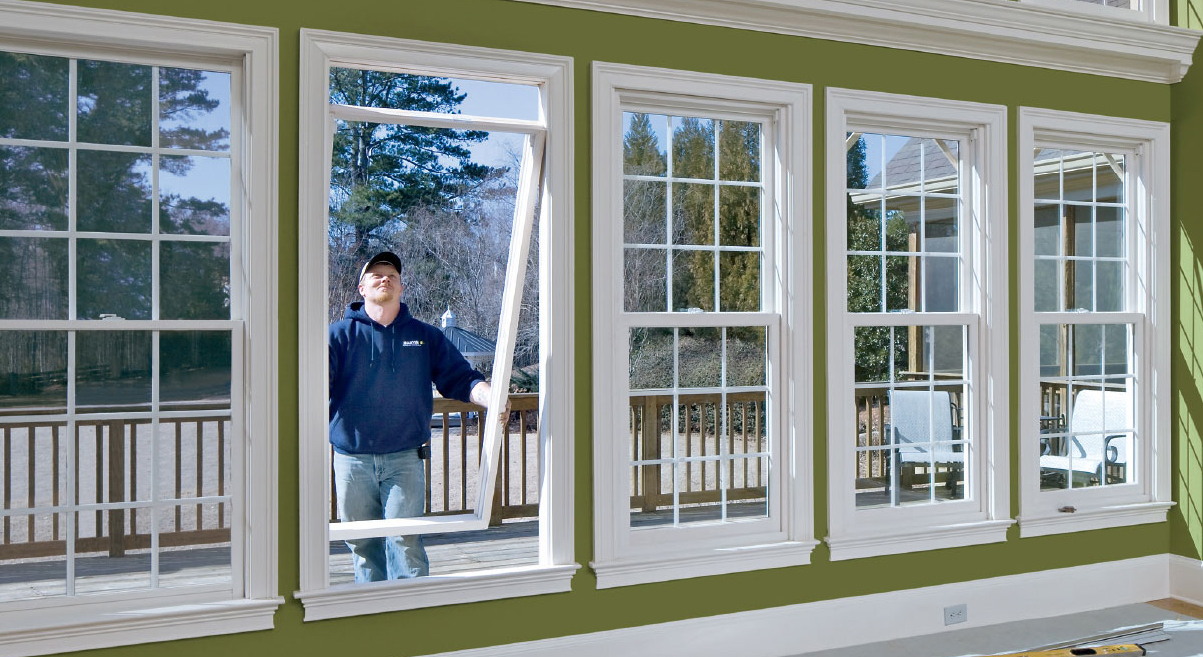 Home with Window Replacement